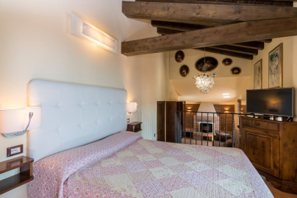 Junior suite - Hotel San Marco Montebelluna TV