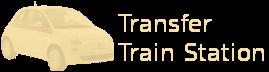 Transfer train station
