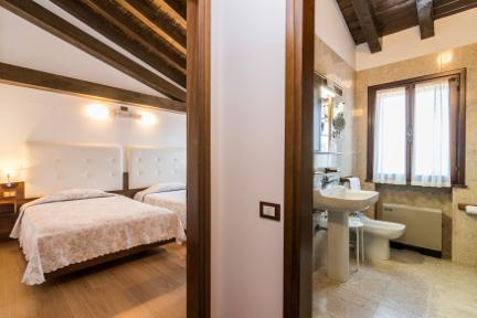 Camera doppia superior - Hotel San Marco Montebelluna TV